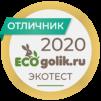 Отличник Ecogolik.ru 2020